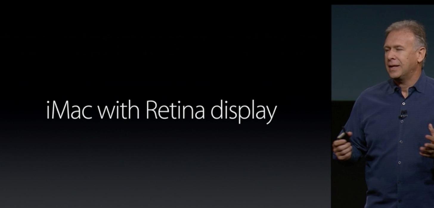 【速報】iMac with Retina displayが遂に発表!5Kディスプレイを搭載!価格は$2499。