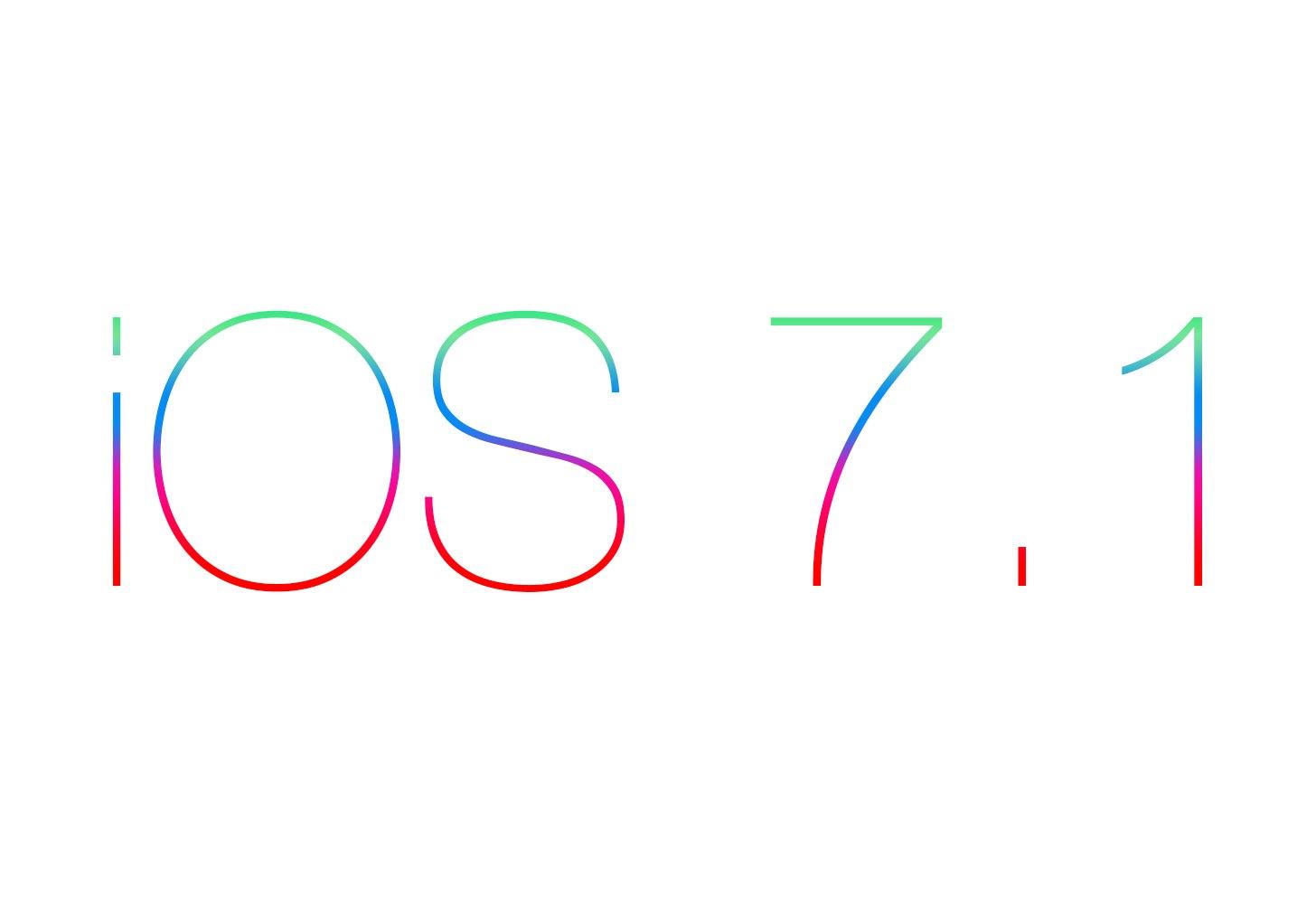 Ios 7 1 title