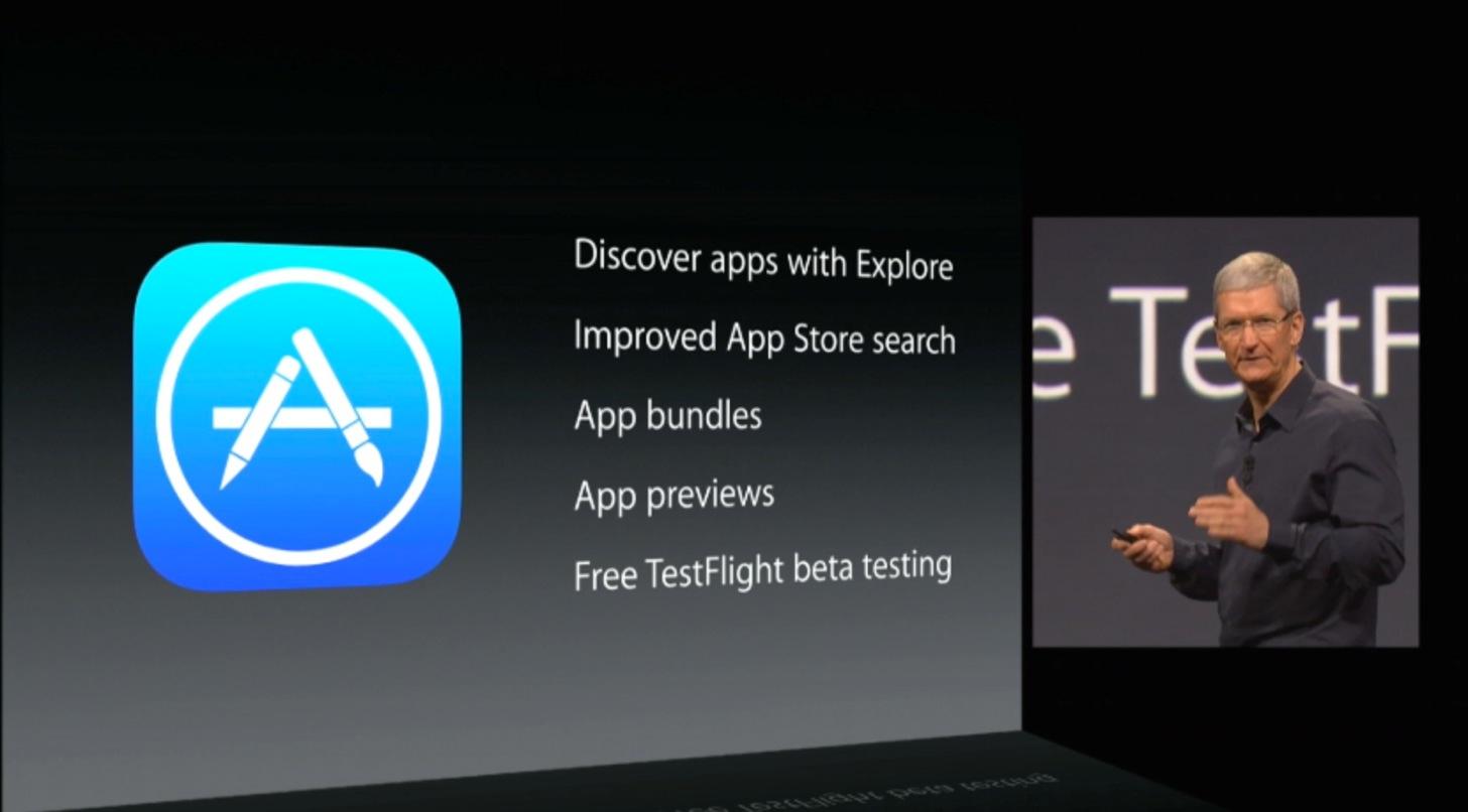 ものすごく改良されるiOS8のApp Store
