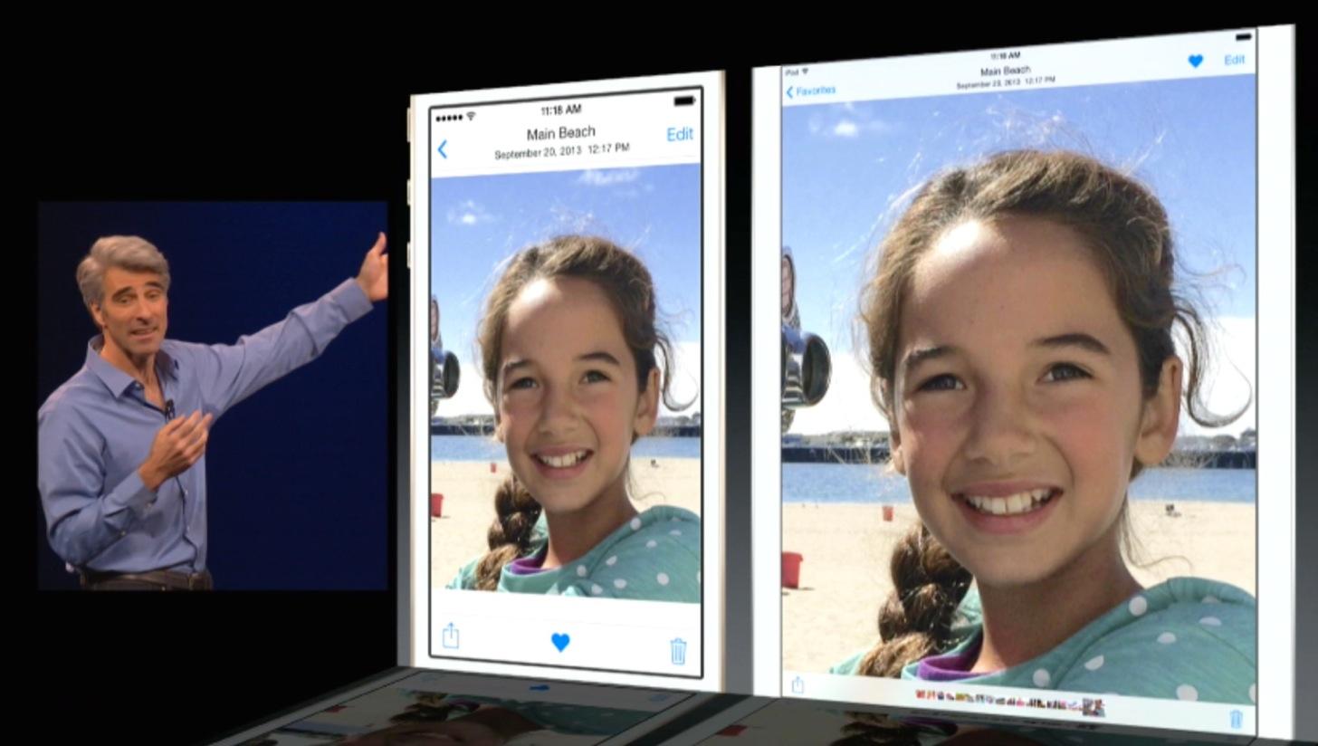 iOS8のPhotos