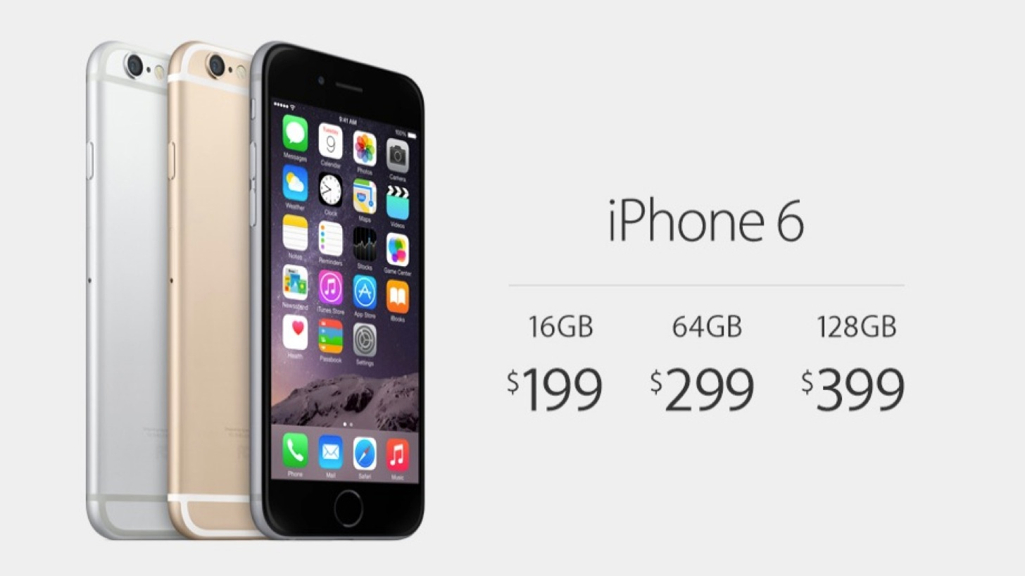 iPhone 6の価格