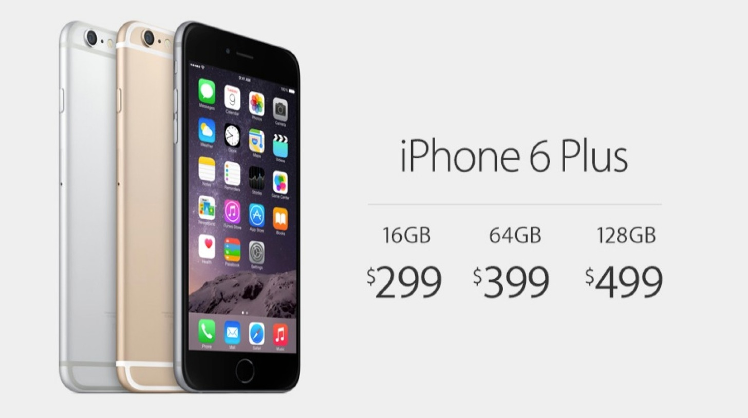 iPhone 6 Plusの価格