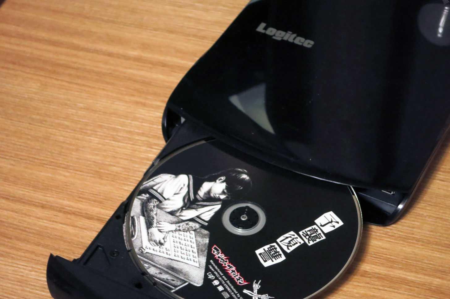 Logitec WiFi対応 ポータブルDVDドライブ