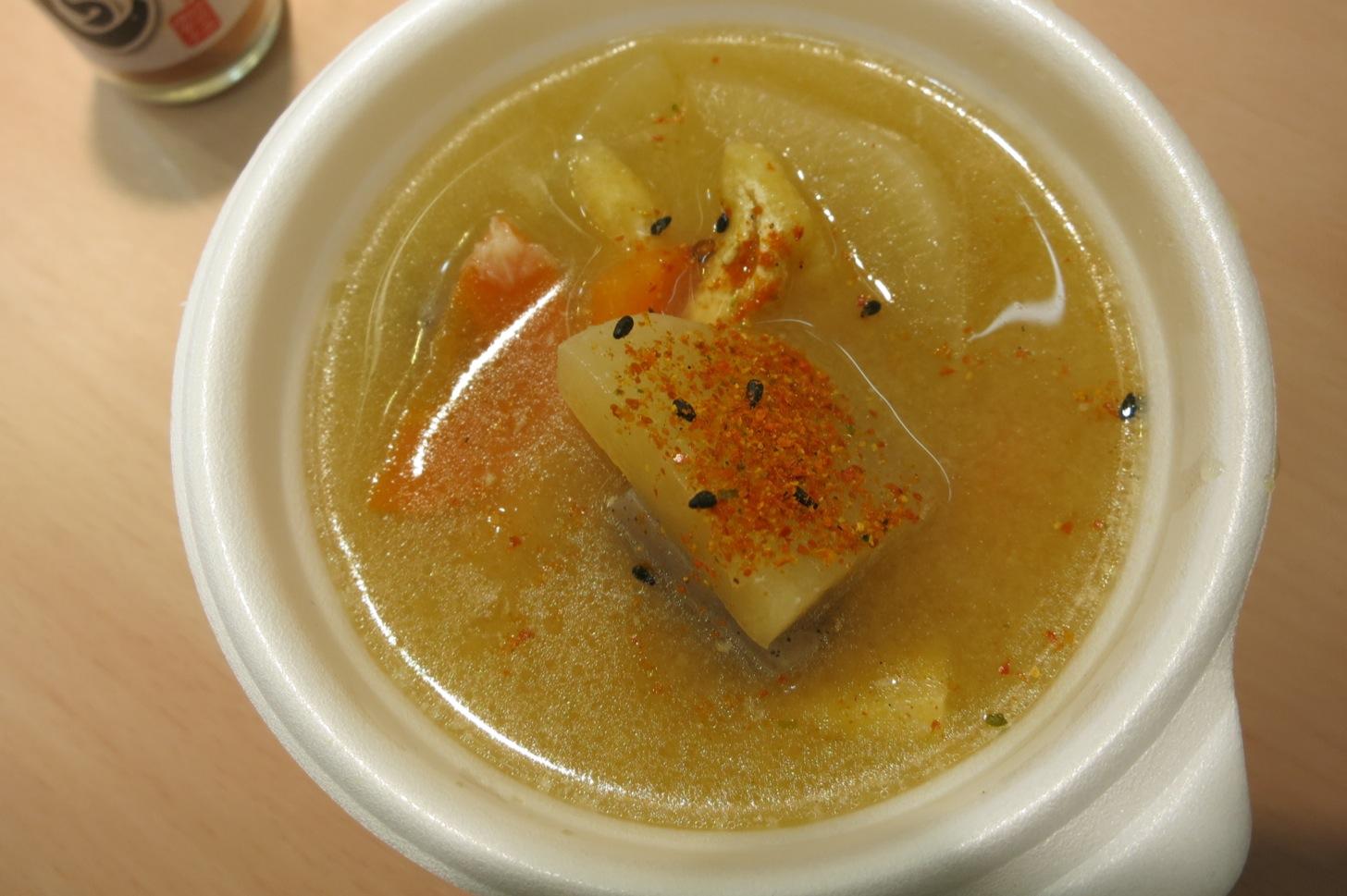 Origin bento miso soup 2