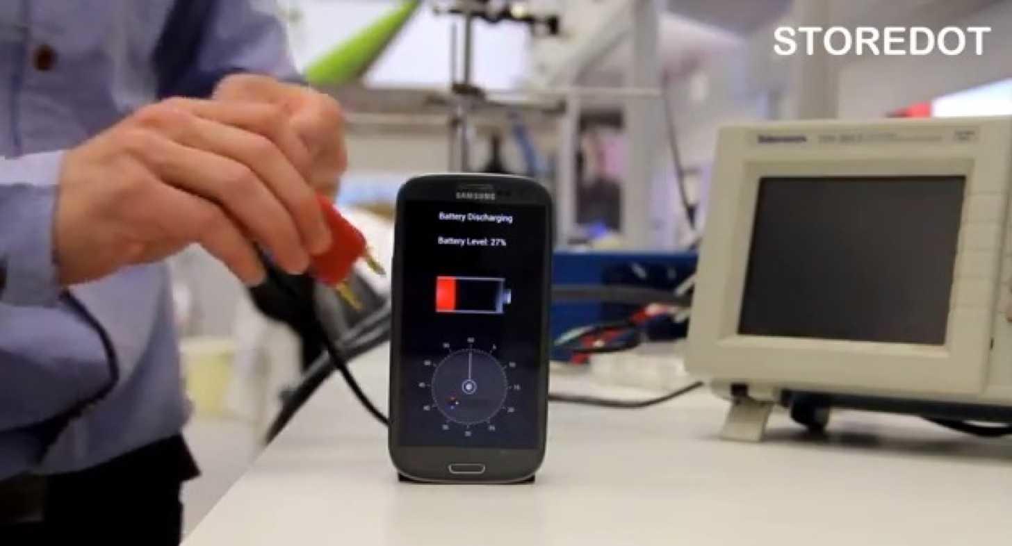 Smartphone battery kaihuku 30sec 0