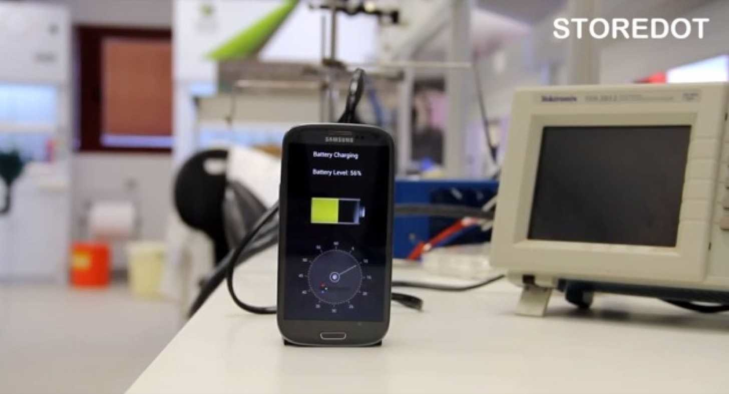 Smartphone battery kaihuku 30sec 3