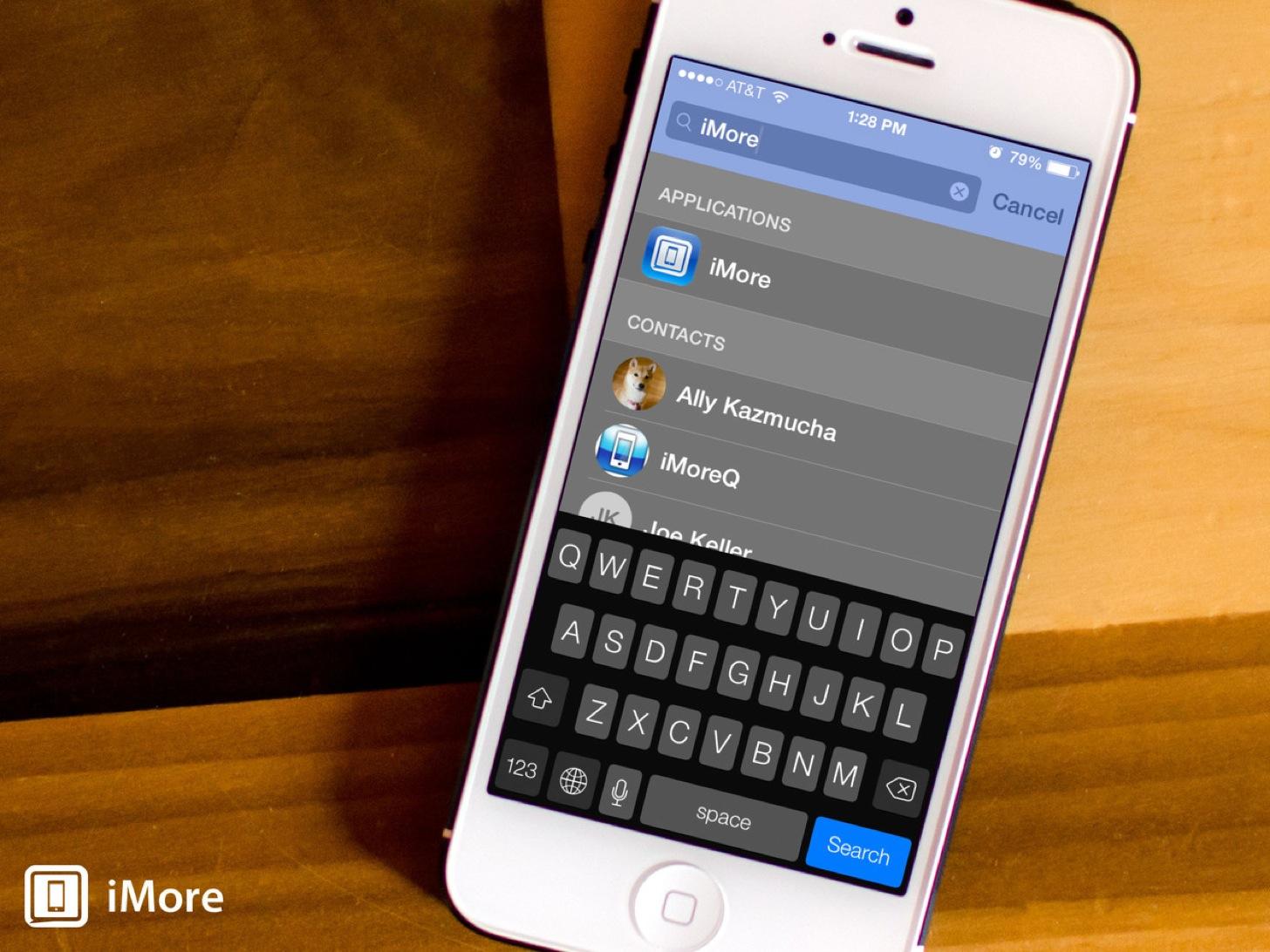 おれ気づいた。iPhoneアプリをこつこつフォルダで整理するよりSpotlightの方が速いって。