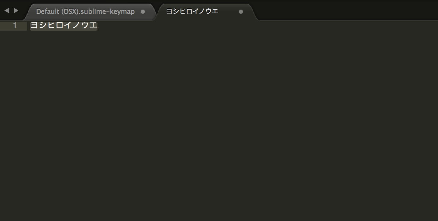 Sublime text 3 keybinding change f7 6