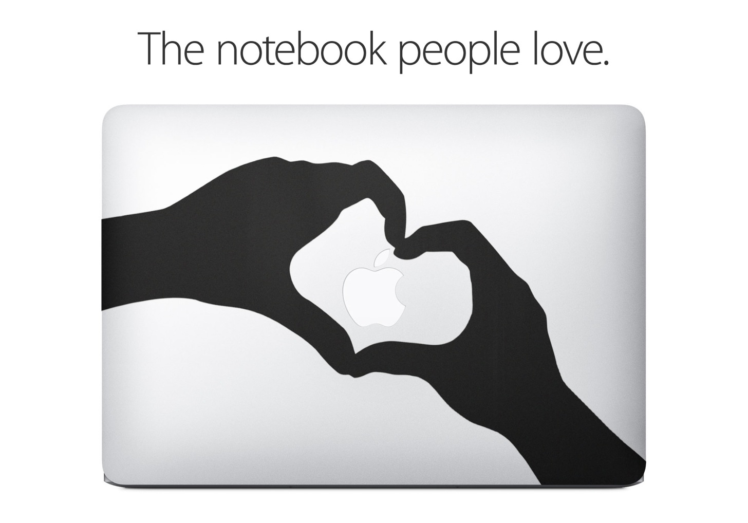 なんとAppleの公式サイトに「MacBook Airの天板をステッカーで彩ると楽しいぜ」的なページが登場