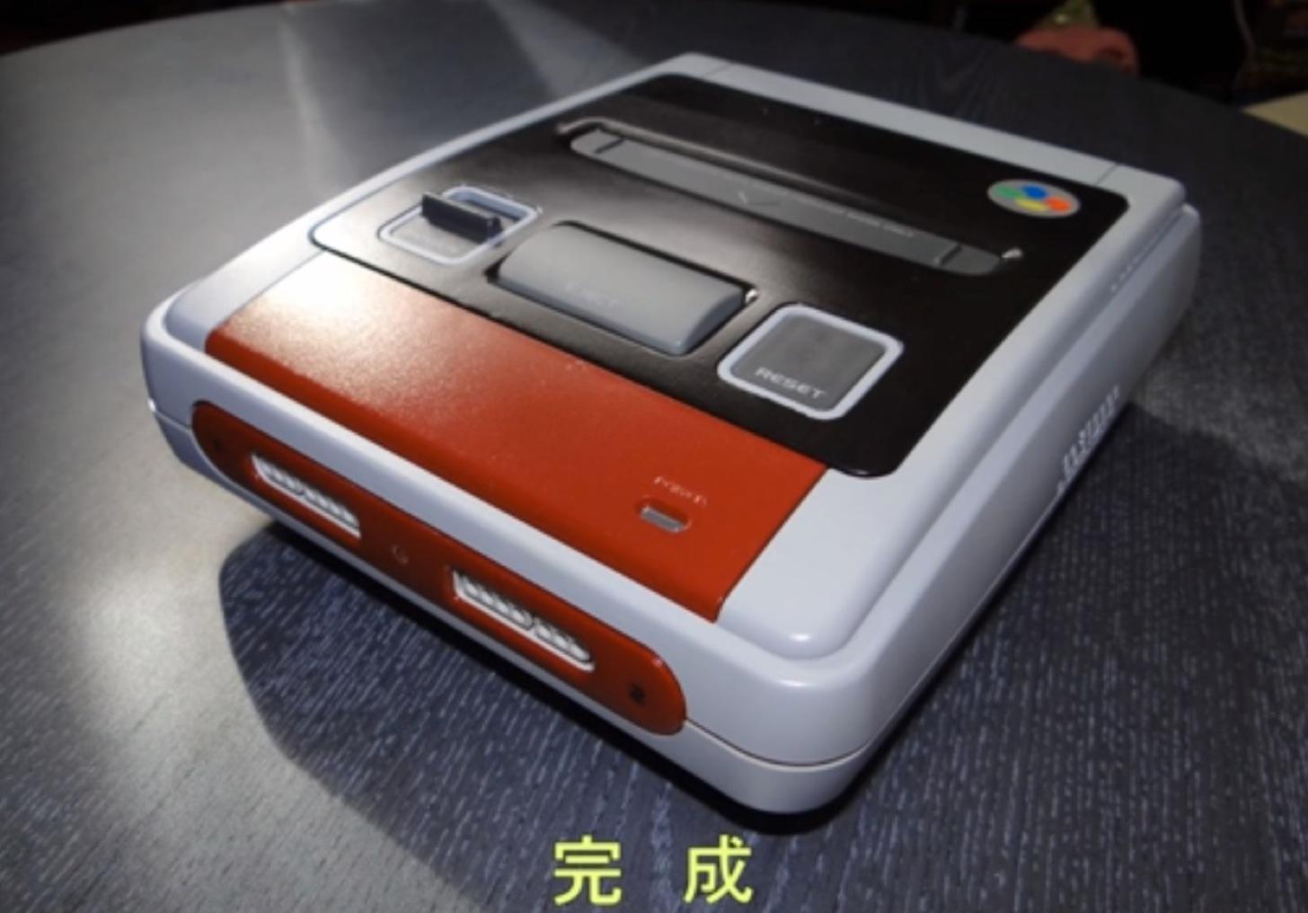スーパーファミコンをWindows8に改造!