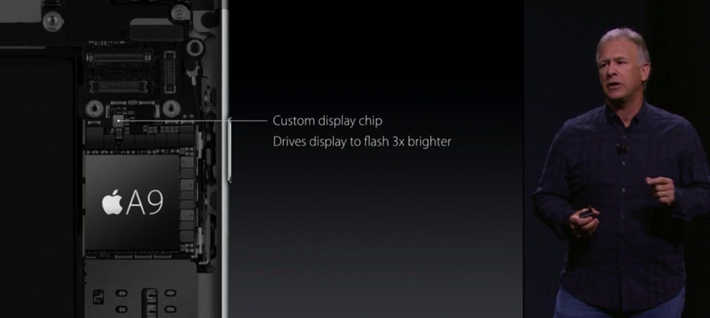 iPhone 6sのチップはA9