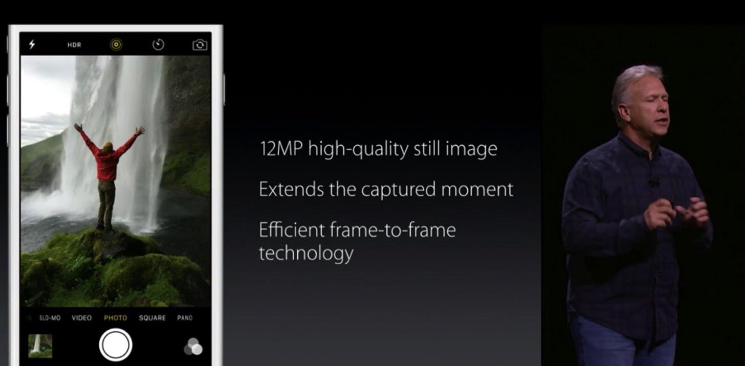 iPhone 6sのカメラの新機能まとめ。