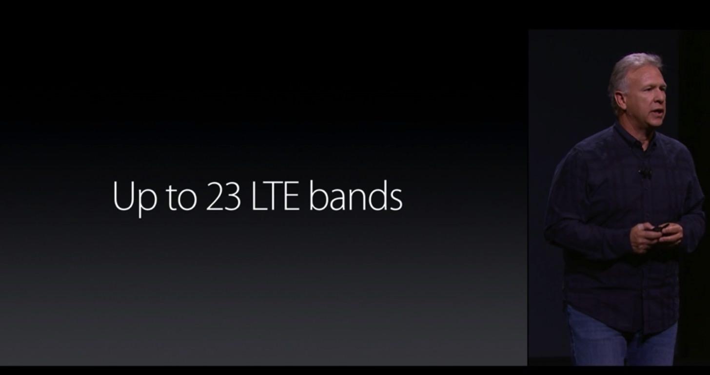 iPhone 6sの通信速度は6の2倍です。