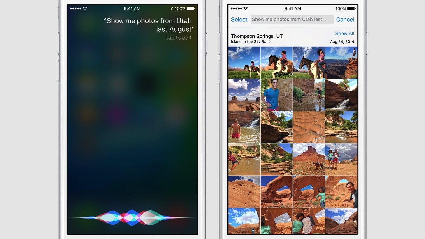 iOS9は写真の検索も可能