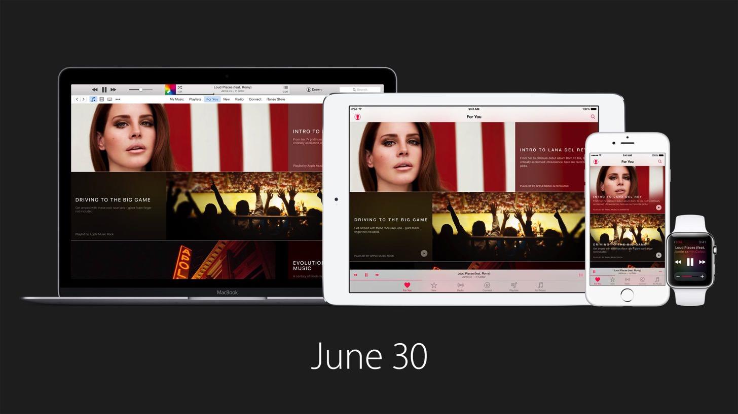 Apple musicの提供日