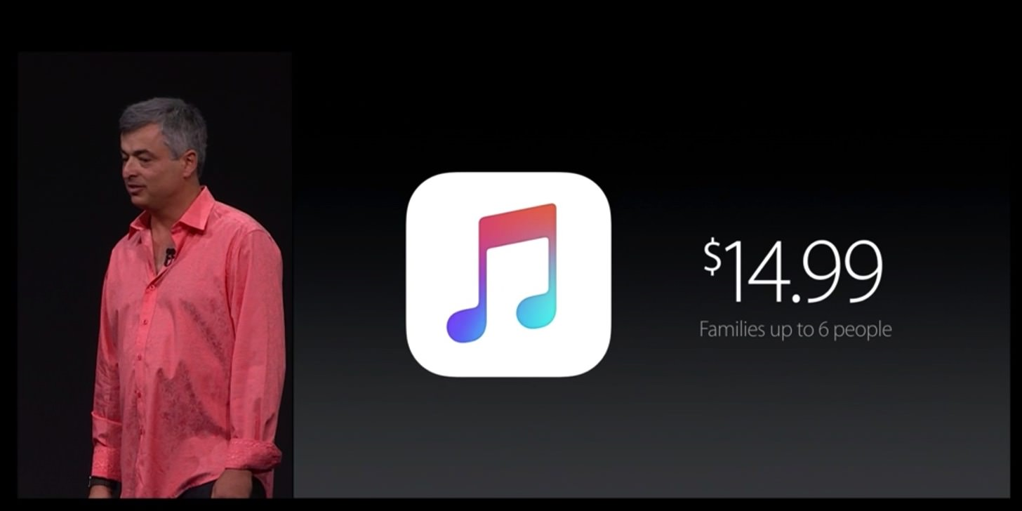 Apple musicのファミリー料金