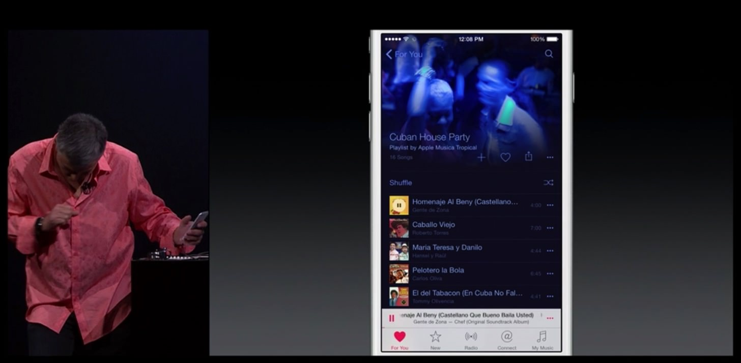 Apple MusicのFor You