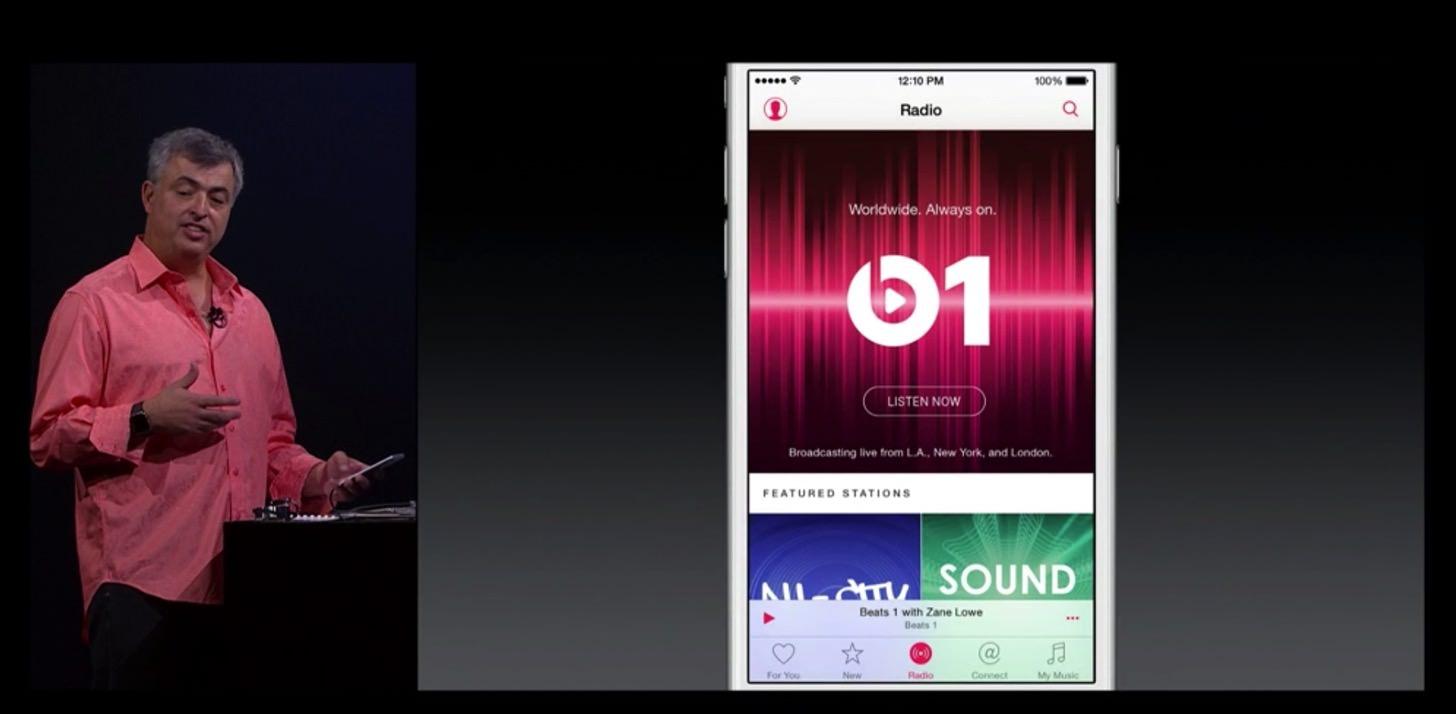 Apple musicのインターネットラジオ機能
