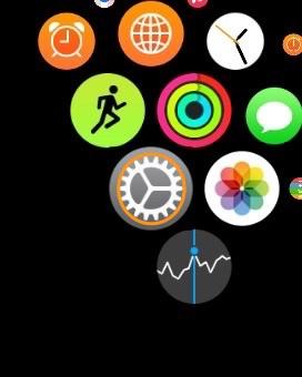 Apple Watchの設定アプリ