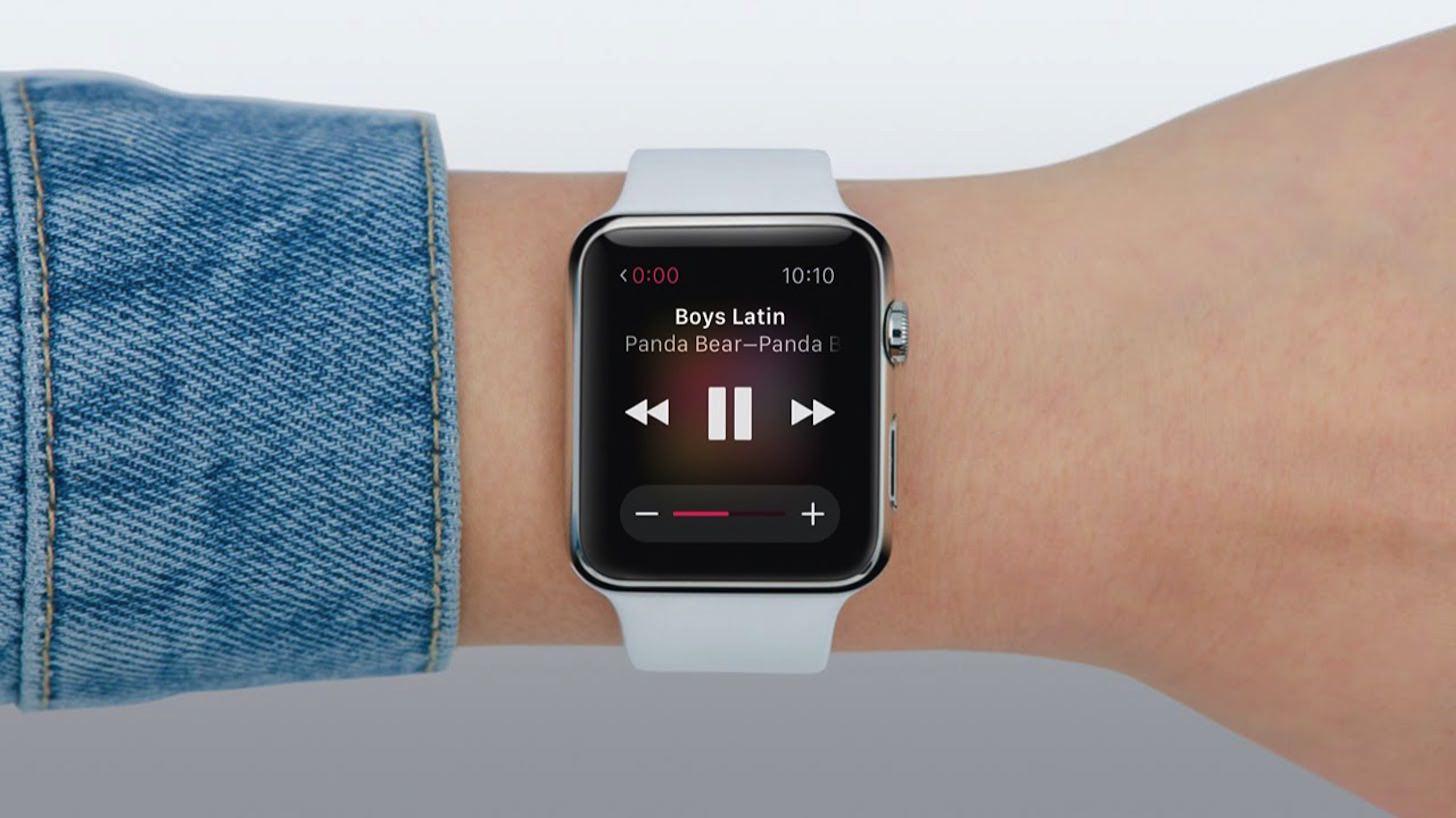 Apple Watchで音楽を再生する方法。