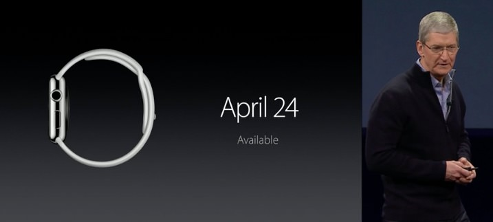 Apple watch release date2