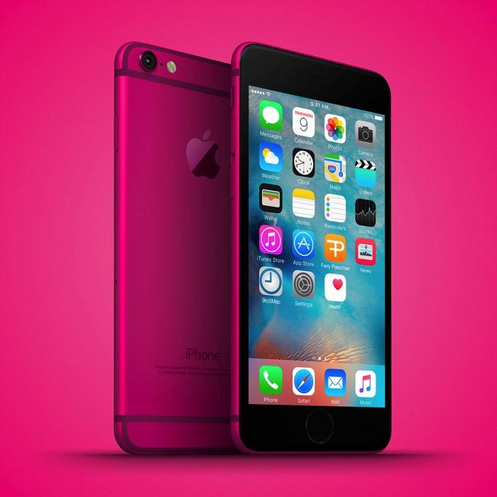 iPhone 6c ピンク
