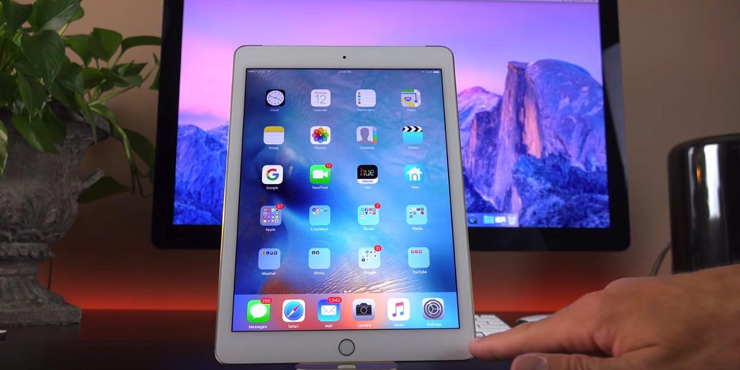 iPadもバッチリ。