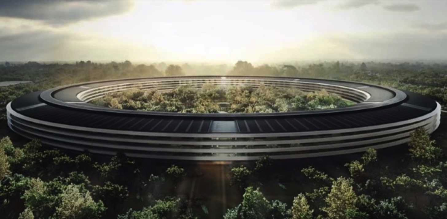 Appleの新本社