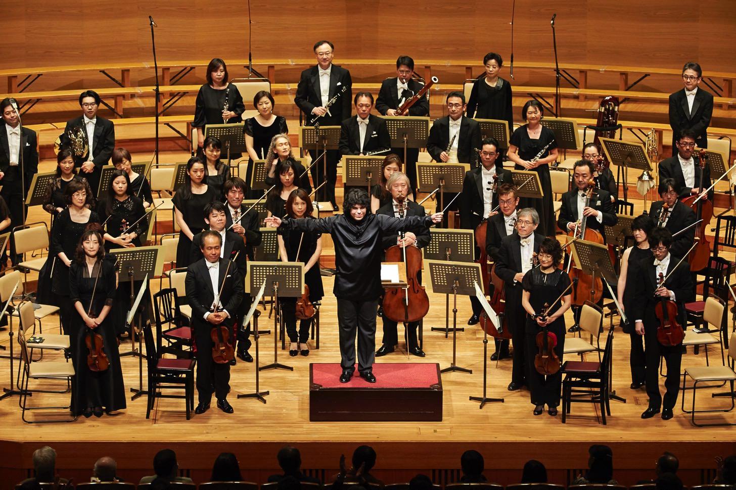 東京フィルハーモニー交響楽団「ベートーベン第九特別演奏会」開始