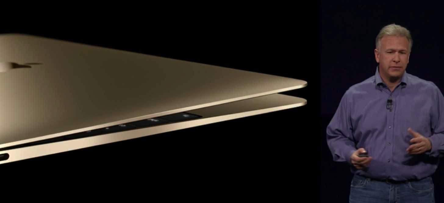 New macbook gold 201510