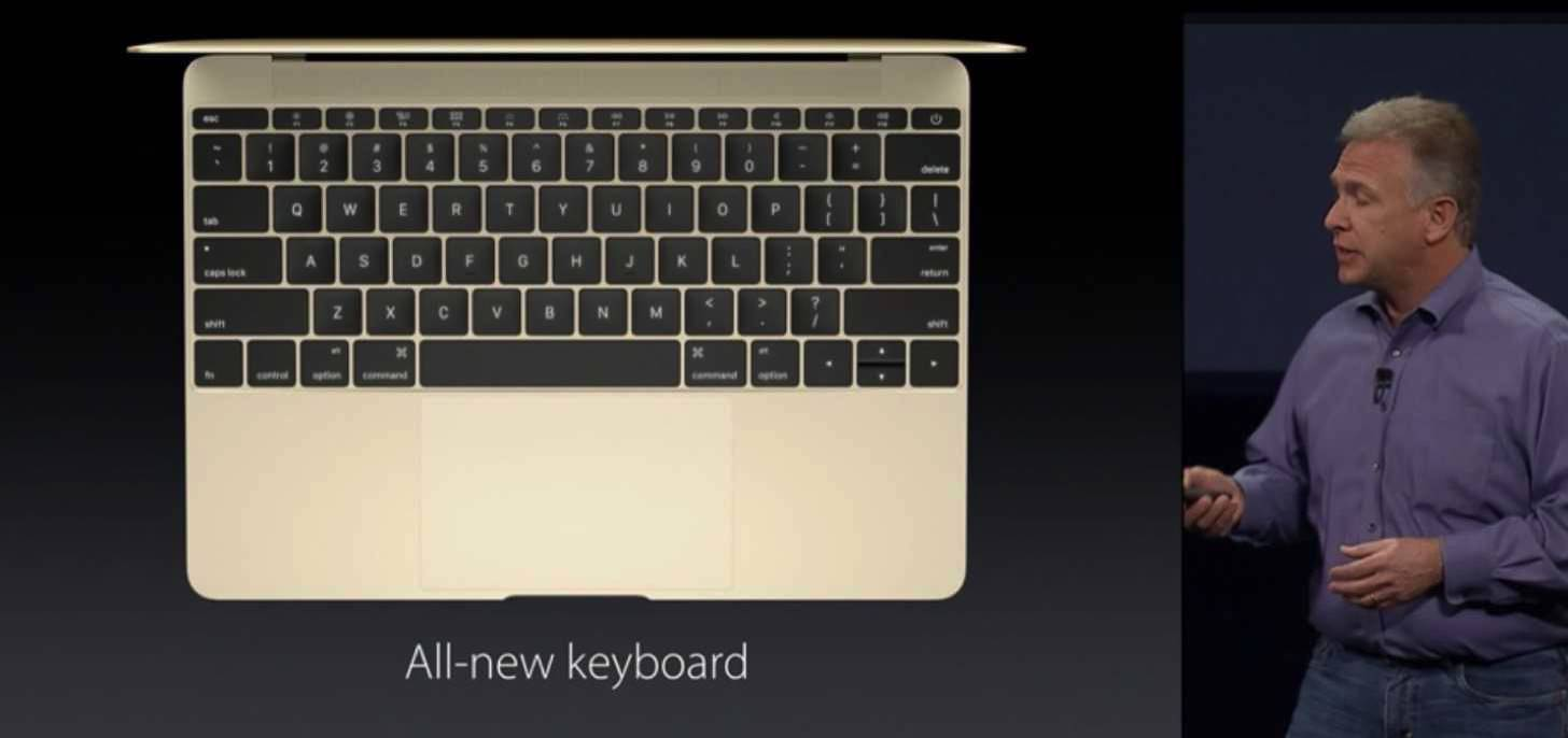 New macbook gold 20152