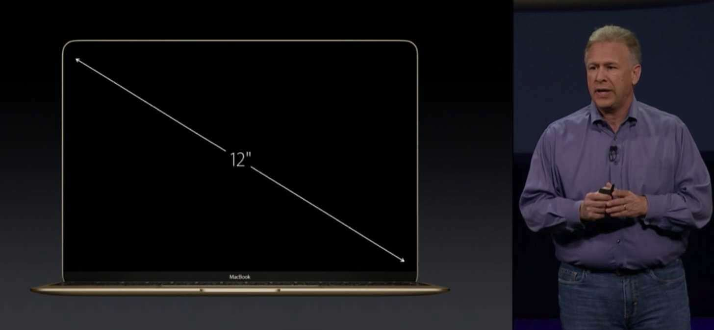 New macbook gold 20153