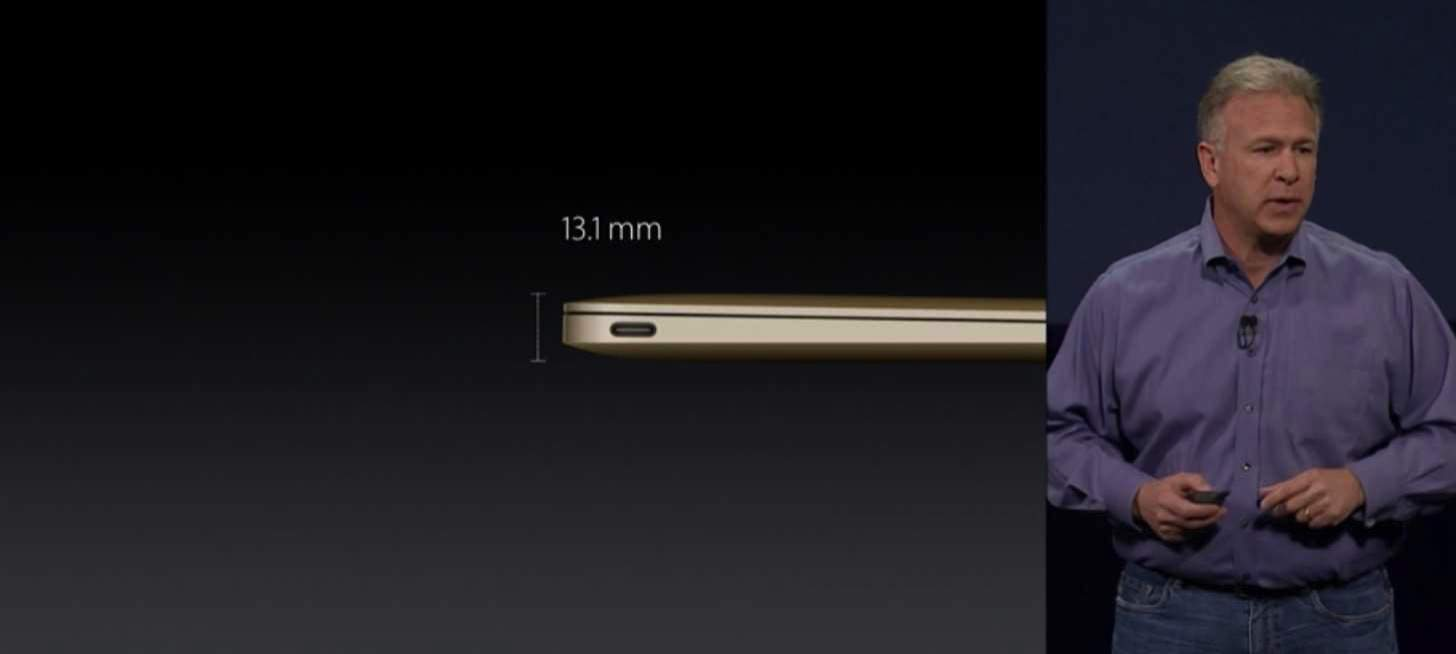 New macbook gold 20156