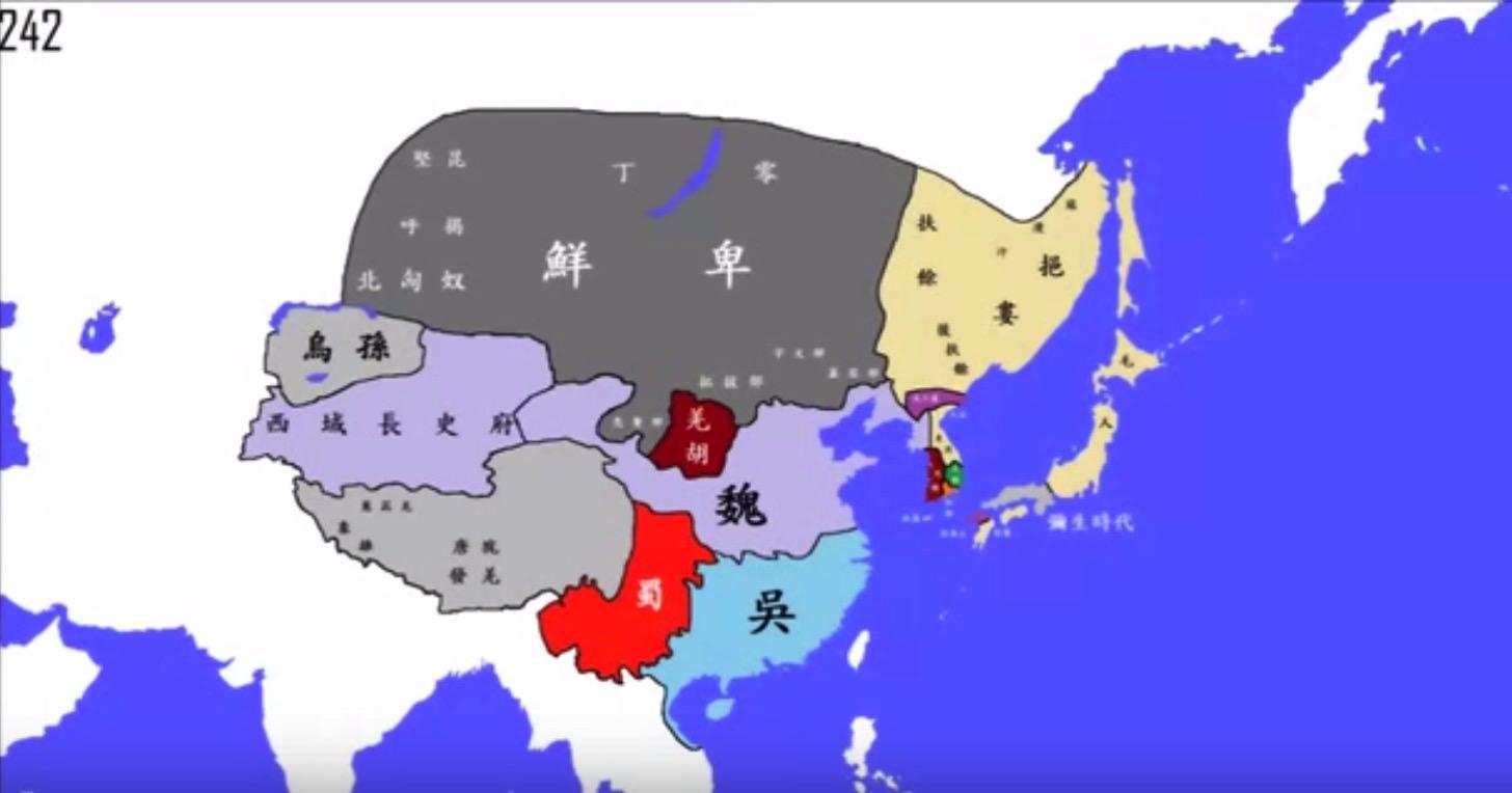 三国志の時代も日本は弥生時代