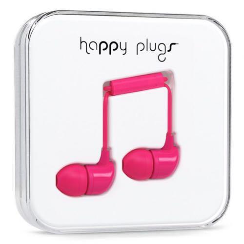 【重低音好き向き】ビビッドカラーで鮮やかなデザインのカナル型イヤホン「happy plugs IN-EAR CERISE」を試す。