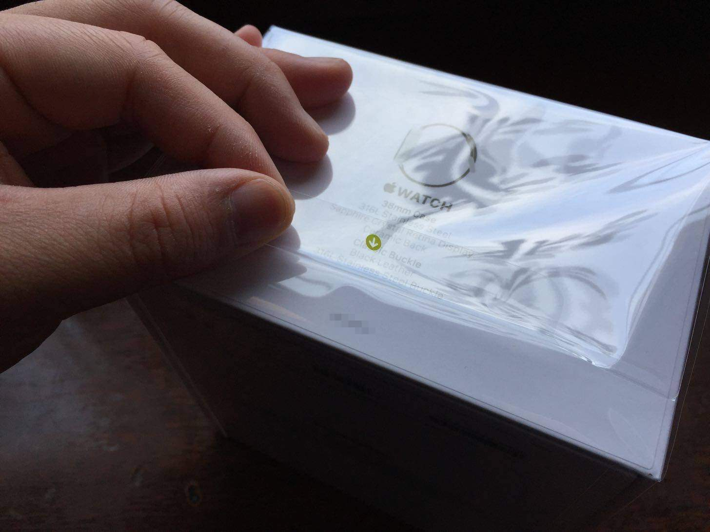 Apple Watchのフィルム