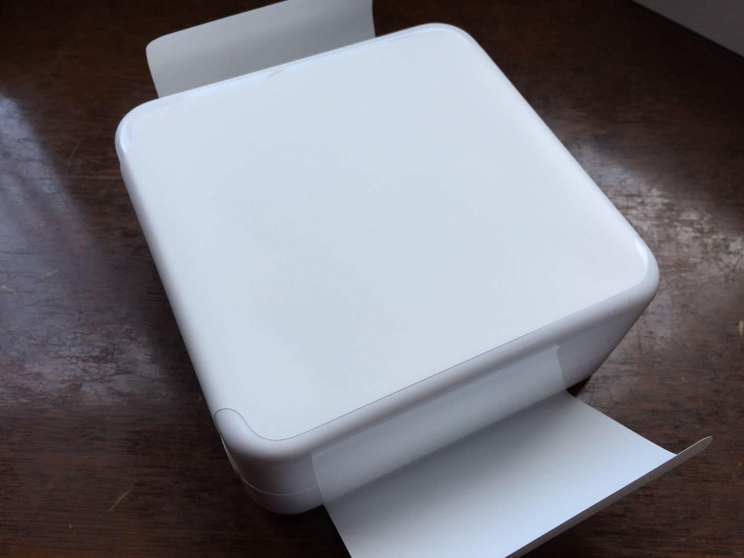 Apple Watchのプラスチックの箱