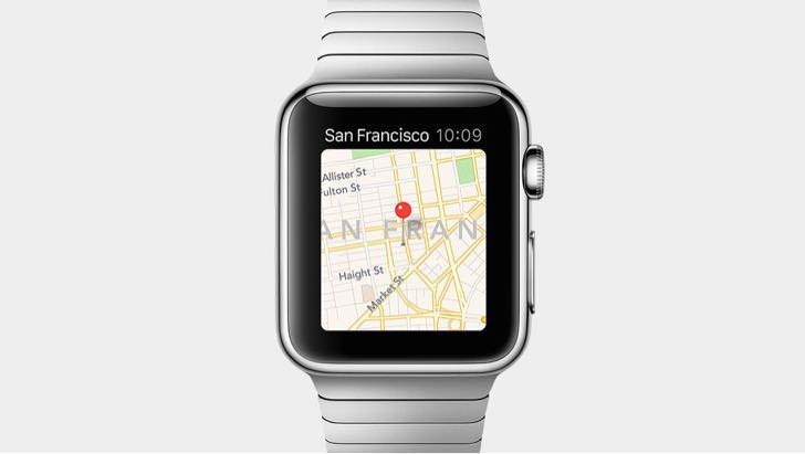 Apple Watchのマップ