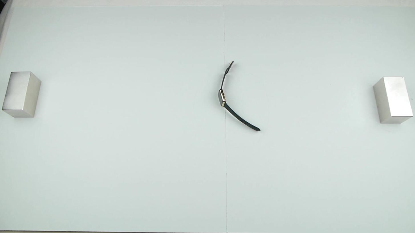 磁石に取り囲まれるApple watch Edition