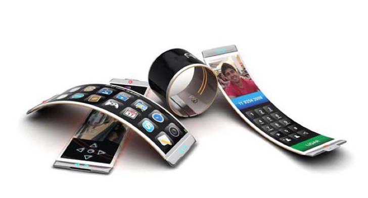 フレキシブル有機ELディスプレイのiPhone 8