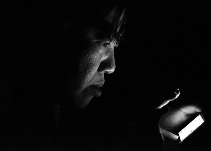 iPhoneのLED懐中電灯