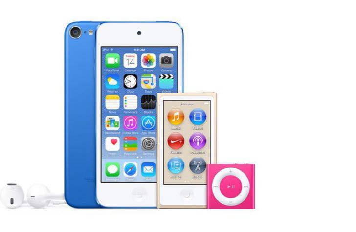 新型iPod nanoとiPod shuffle