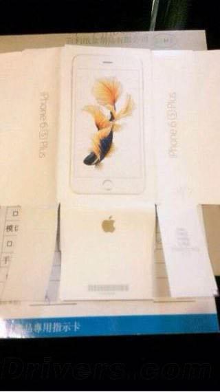 iPhoneに咲く一輪の花。iPhone 6s Plusのパッケージデザインがリーク。