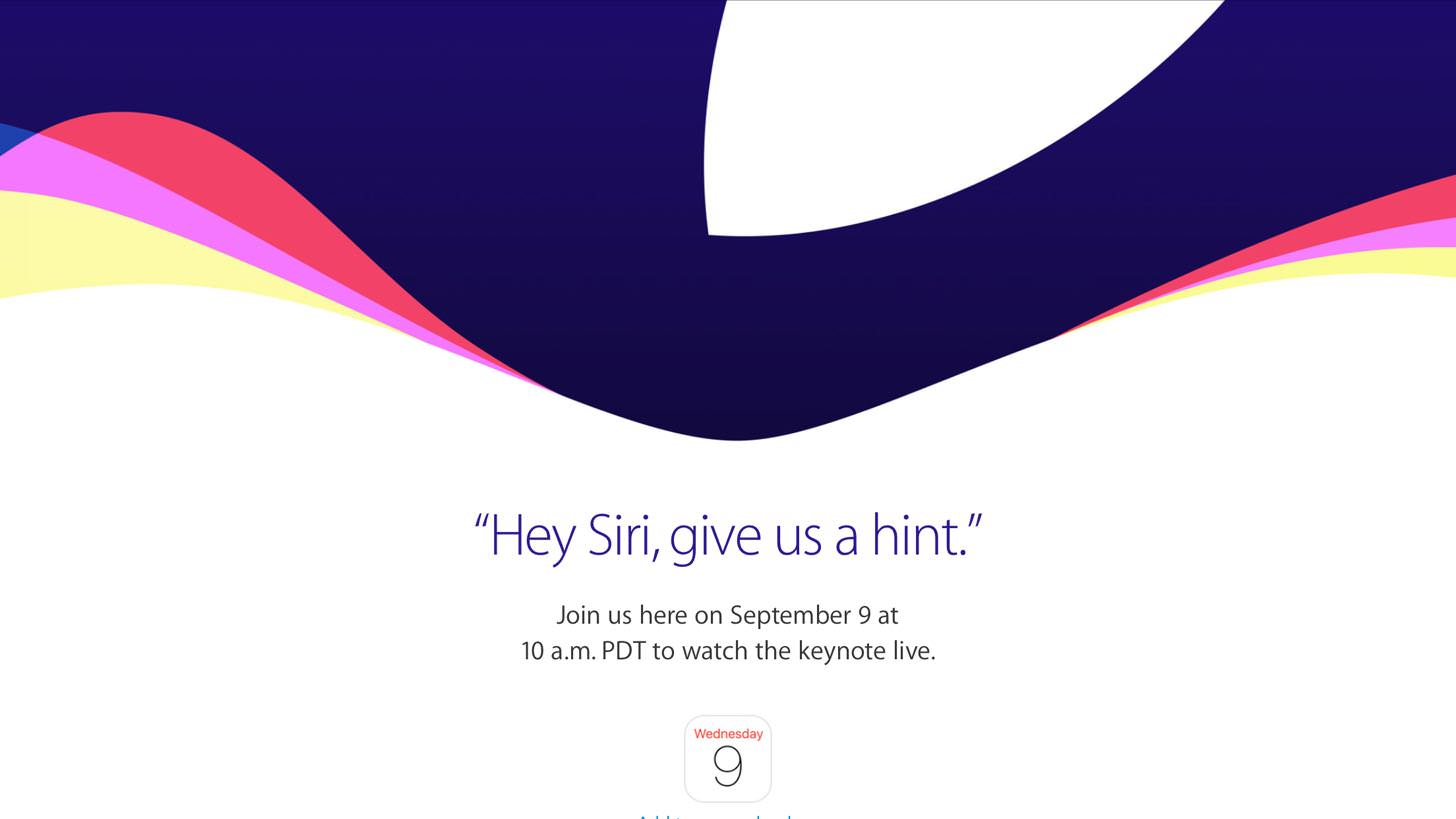 Appleスペシャルイベント(Hey Siri, give us a hint)