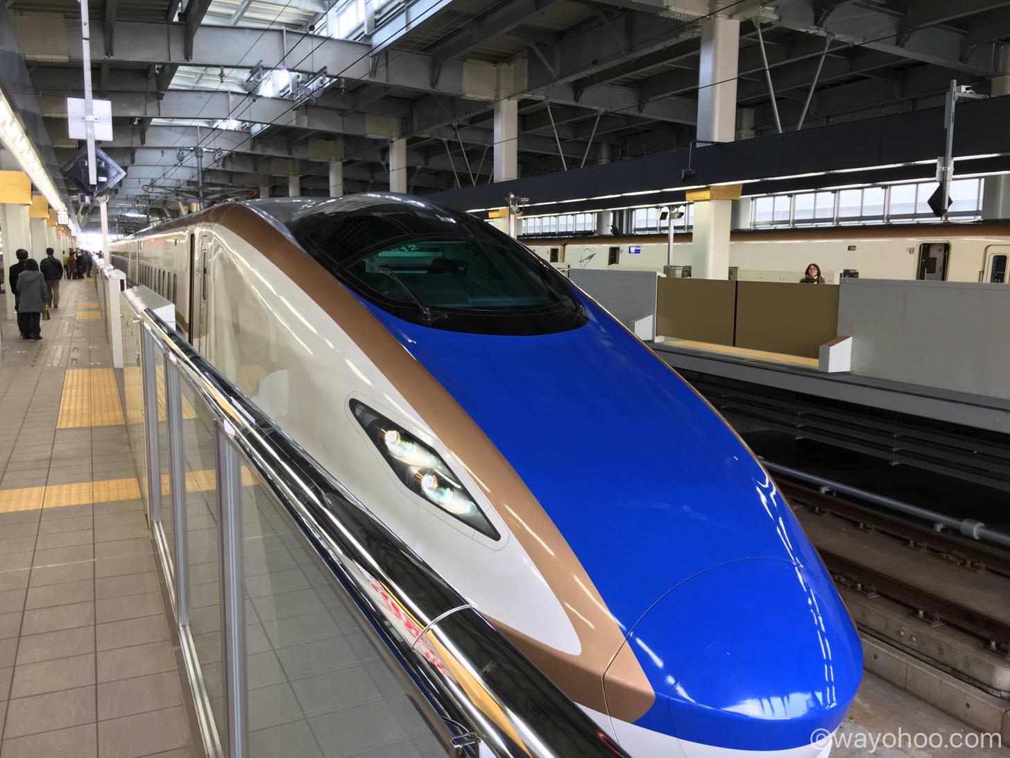 北陸新幹線 はくたか568号
