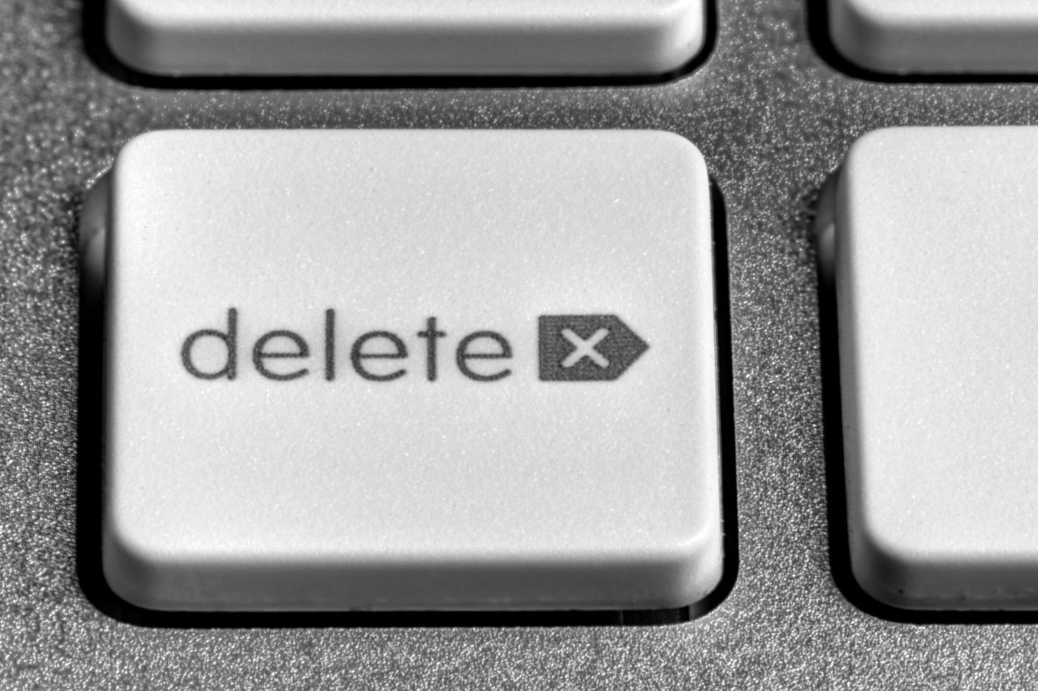 Macのdeleteキー(削除)