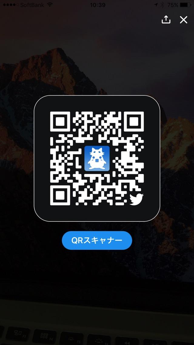 するぷのTwitterのQRコード