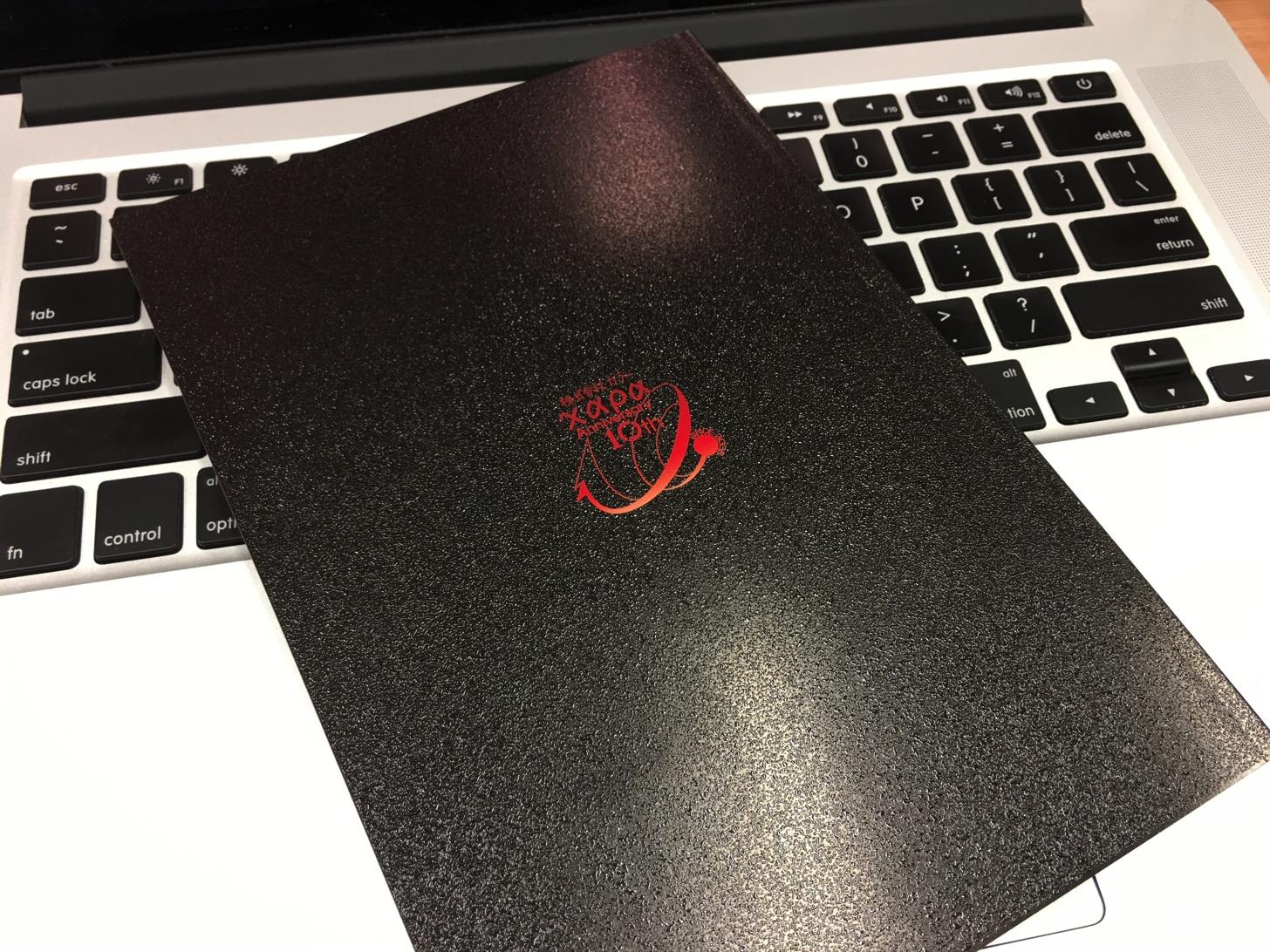 株式会社カラー10th Annivarsaryの小冊子