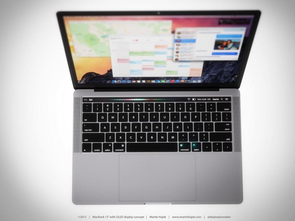 Siriが新MacBook Proのタッチスクリーンに反映。