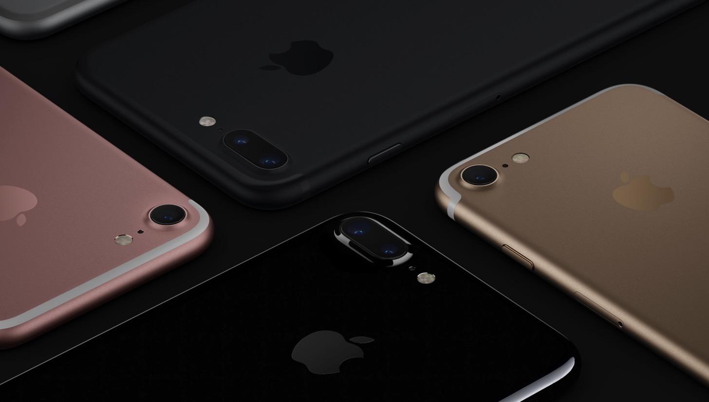 iPhone 7の色